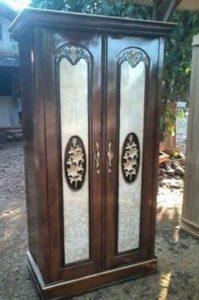 Almari Minimalis Pintu Dua