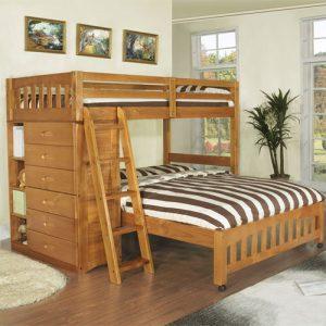 Tempat Tidur Anak Tingkat Minimalis Silang