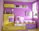 Tempat Tidur Anak Tingkat Minimalis Bufet Laci
