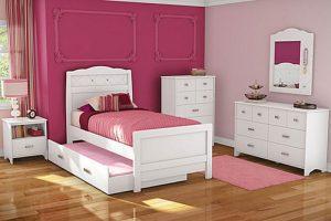 Tempat Tidur Anak Tingkat Minimalis White Duco