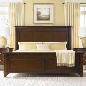 Tempat Tidur Minimalis Klasik Polos